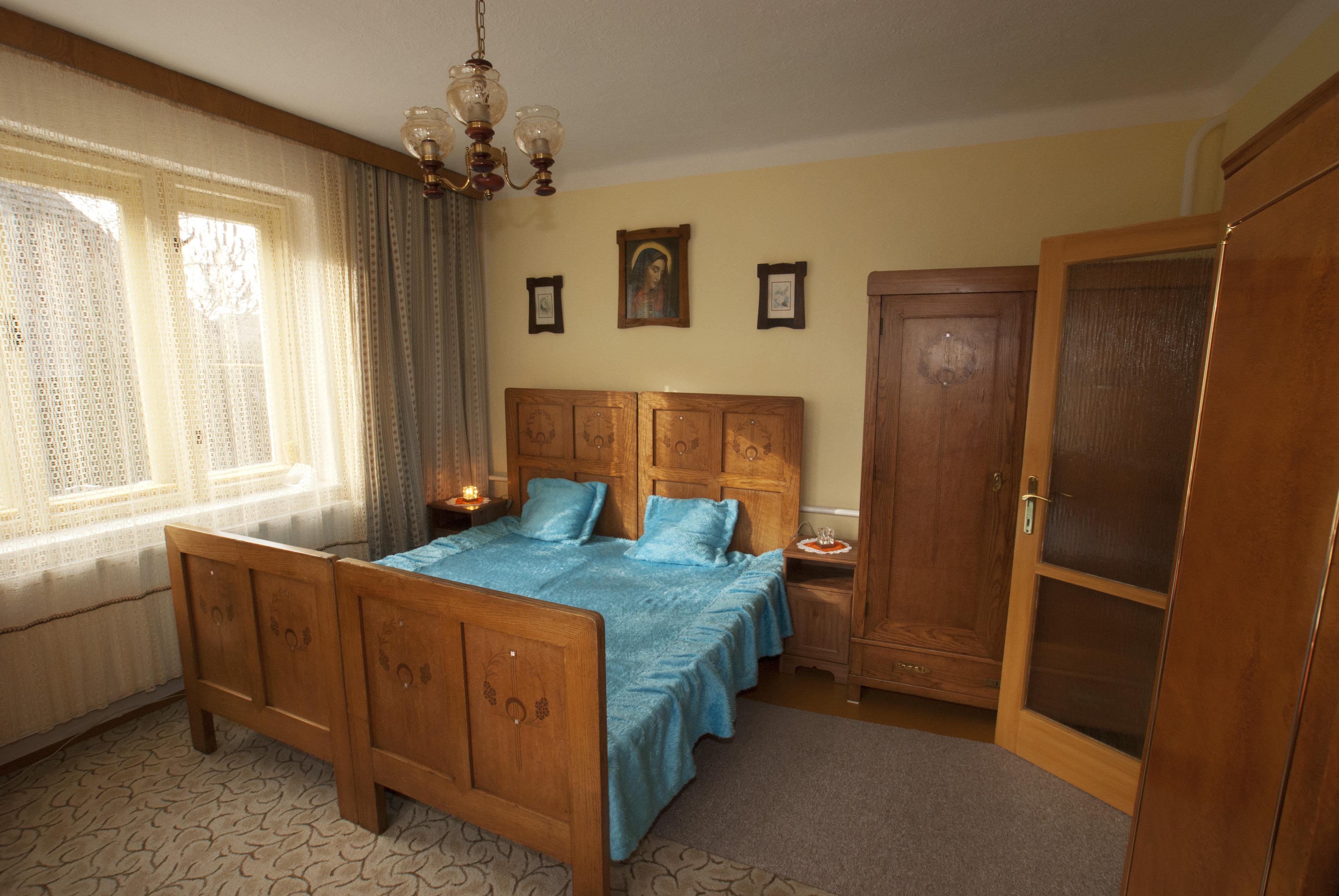 jandova chalupa k pronájmu - ložnice